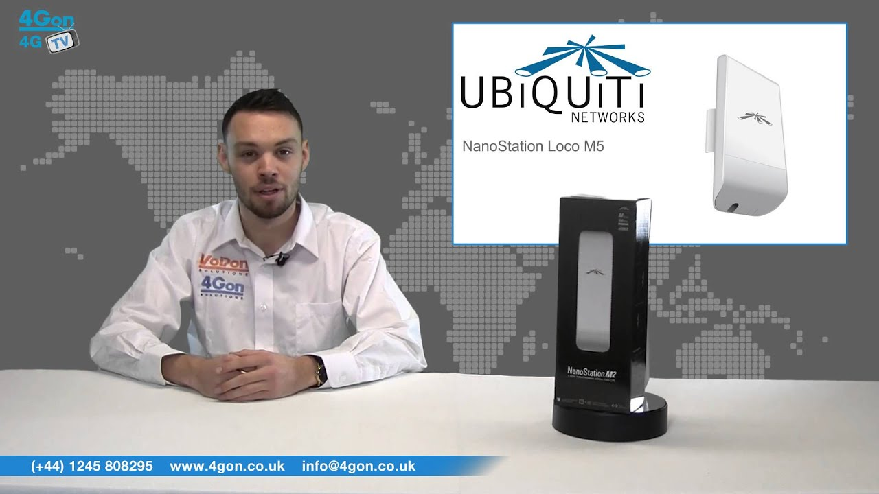 Ubiquiti airMAX NanoStation M2 Video Review / Unboxing