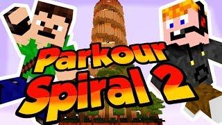 Minecraft - Parkour spiral 2 [CEBELIÁÁÁÁN!!!]