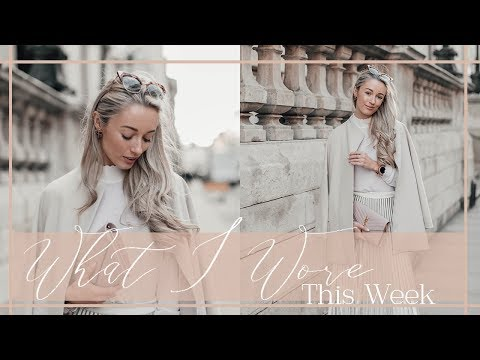MY CURRENT FAVOURITE OUTFITS   // What I Wore & Did This Week   // Fashion Mumblr