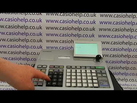 Factory Reset Casio PCR-T2400 Electronic Cash Register