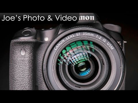 Canon EF 35mm f/2 IS USM Lens - Review Plus Photo & Video Samples (On EOS 80D)