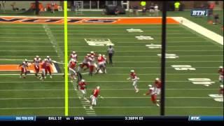 Brandon Doughty - Western Kentucky Football - QB - 2014 Illinois Game