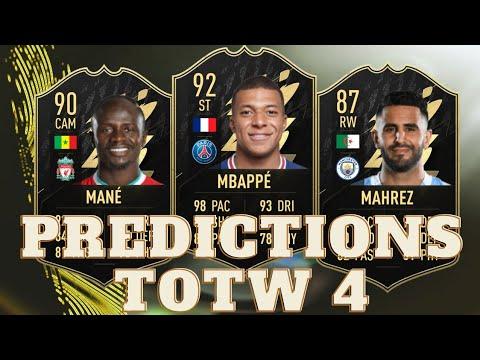 Download FIFA 22 PREDICTIONS TOTW 4 + INVESTISSEMENT TOTW 3