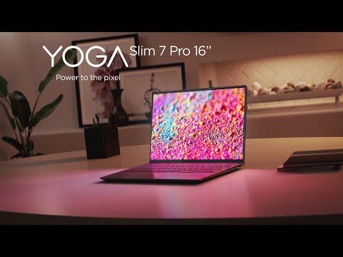"Lenovo Yoga Slim 7 Pro 16"" Product Tour"