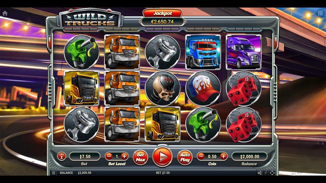 Wild Trucks Gameplay Demo Habanero Video Slots On Gambit Stream Online Casino Platform Youtube