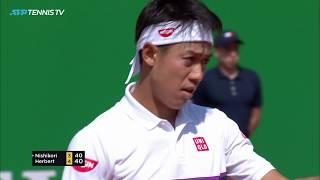 Great Pierre Hugues-Herbert Tennis in Nishikori Upset | Monte Carlo 2019