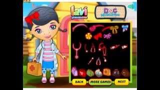 Doc Mcstuffins Dressup (Доктор Плюшева подряд) - видео прохождение игры