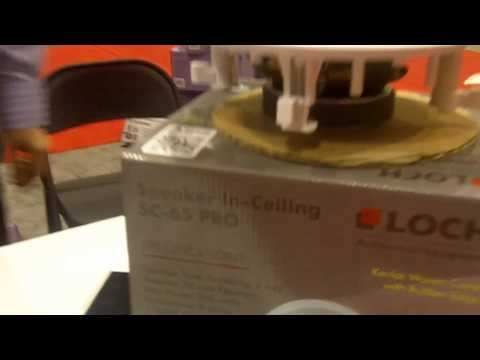 InfoComm 2013: Loch Presents the SC-65 PRO In-Ceiling Speaker