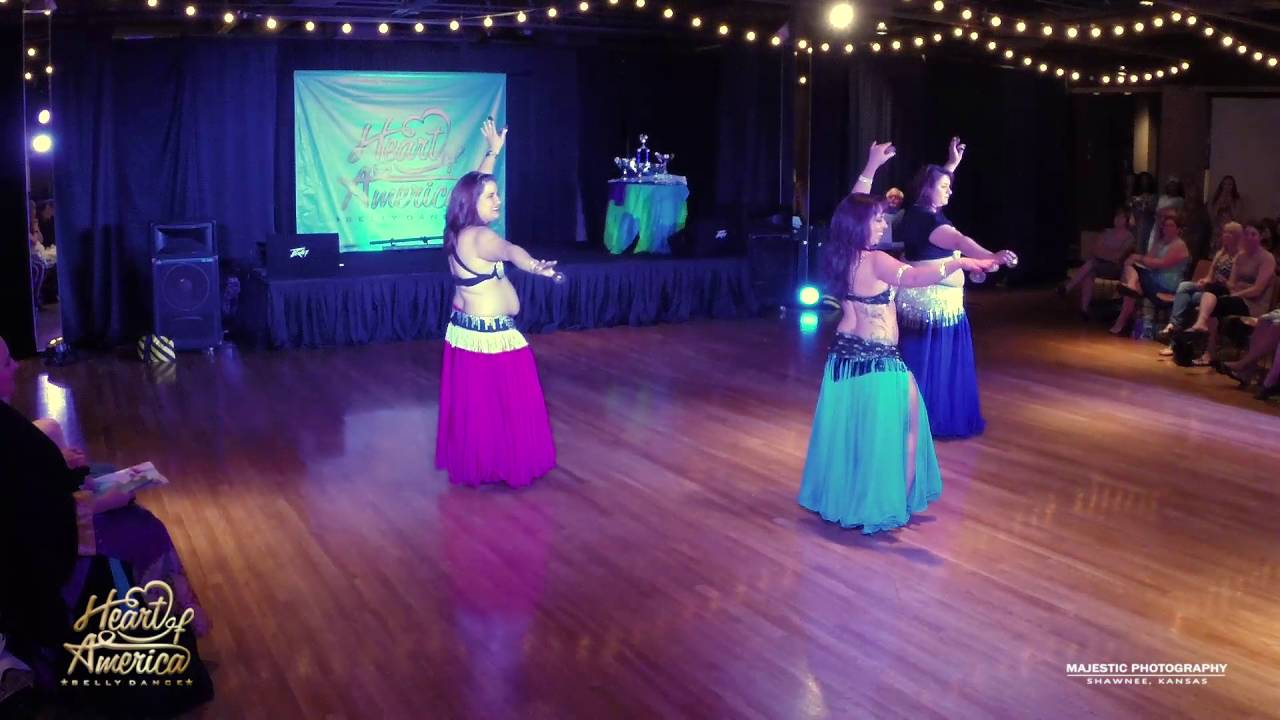 RaQsFusion- 3rd place HOA Bellydance Competition