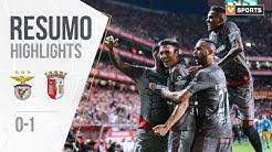 Highlights | Resumo: Benfica 0-1 Sp. Braga (Liga 19/20 #21)