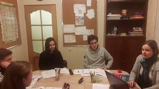 Урок немецкого языка в группе подготовки к B2. Подростки 14 лет. OSMethod