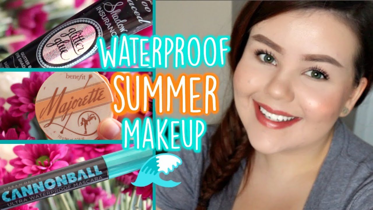 Long-Wearing Waterproof Summer Makeup ♡ Tips To Keep Makeup On All Day  (Full Face)