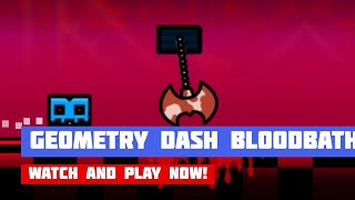Geometry Dash Bloodbath · Game · Gameplay