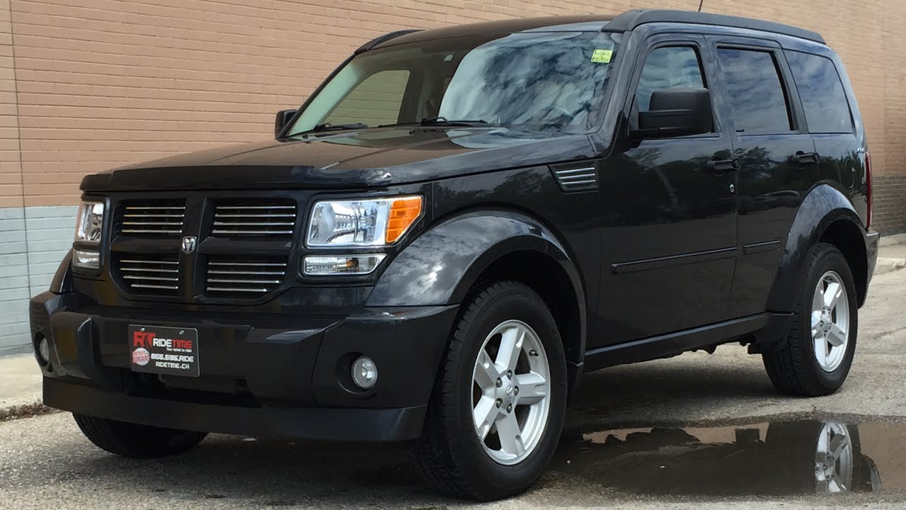 2010 dodge nitro sxt dvd tow package 4x4 youtube. Black Bedroom Furniture Sets. Home Design Ideas