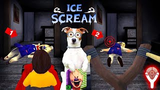 2 способа ВЫРУБИТЬ Мороженщика ► ICE SCREAM (ICE CREAM MAN)