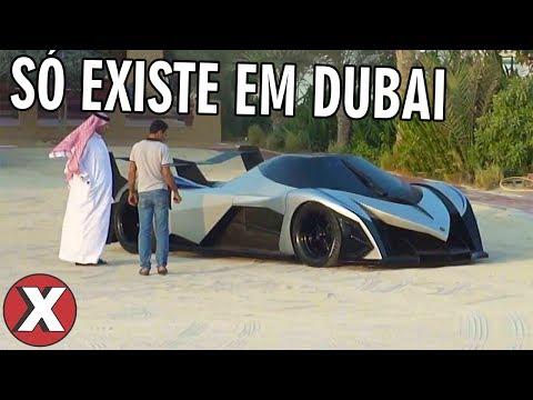 TOP 08 COISAS ESTRANHAS QUE EXISTEM EM DUBAI l Almanaque x