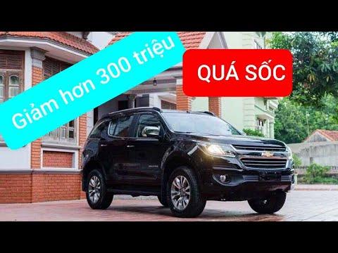 TIN HOT | Lô xe Chevrolet  Trailblazer 2.5L 6AT 4WD LTZ giảm kịch sàn với giá chỉ hơn 700 triệu