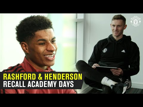 Marcus Rashford & Dean Henderson recall their time together in United's Academy | Manchester United
