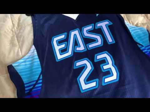free shipping 358b5 3e9bc 2009 Lebron James Mitchell & Ness All star Jersey