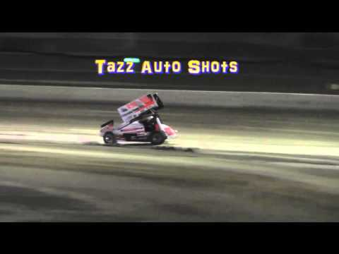 Sprintcars Heat 2 Latrobe Speedway 19/3/16