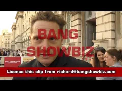 Director Matt Ross BANG Showbiz interview at the Captain Fantastic UK Premiere