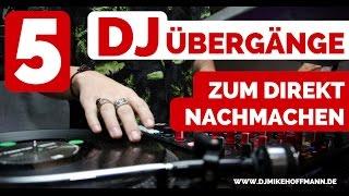 5 DJ Übergänge zum direkt nachmachen für Anfänger 🎧 Virtual DJ Tutorial | Beatmatching How to DJ