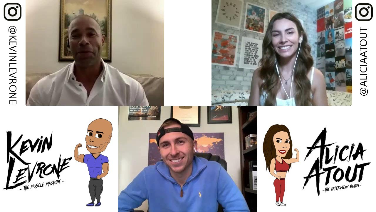 Alicia Atout and Kevin Levrone Interview Cassady Campbell
