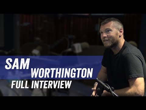 Sam Worthington  'Manhunt:Unabomber', Minimalism, 'Avatar'  Jim Norton & Sam Roberts
