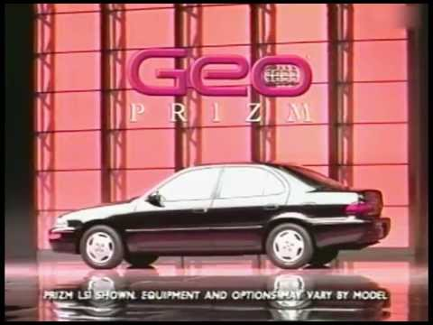 GM Geo Prizm 1993 commercial