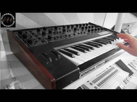 """Sequential Pro-One Analog Synthesizer (1981) & Simmons SDS-8 (1984) """"X-MOD"""""""