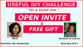 Useful DIY Challenge January 2019 Open Invite & Free Gift