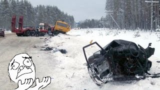 9 min Stupid Snow and Ice CRASH Compilation 2017 - Brutal Snow Accidents Slide Part.8