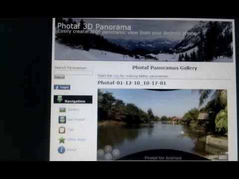 Photaf 3D panorama - best android app
