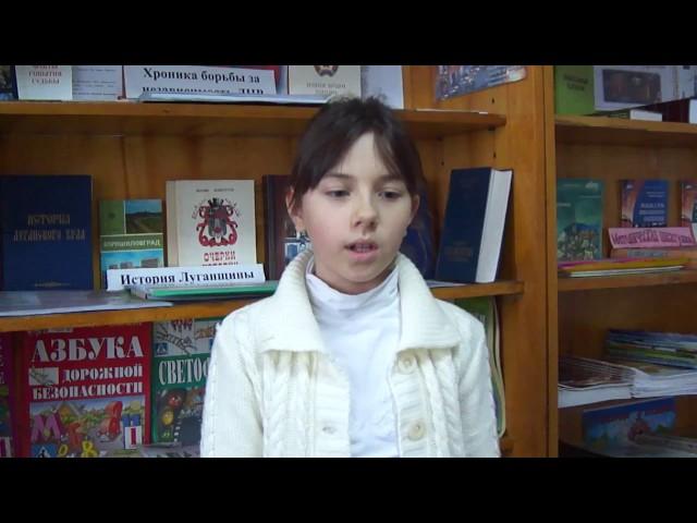 Изображение предпросмотра прочтения – ДианаНовик читает произведение «Бабочка» А.А.Фета