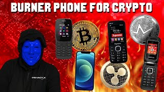 Burner Phones For ANONYMOUS Cryptocurrency! Bitcoin, Cardano, Shibu Inu, Vechain And MORE!