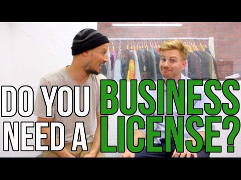 Oh Sh*t!Do I Need A Business License For My Clothing Brand?!