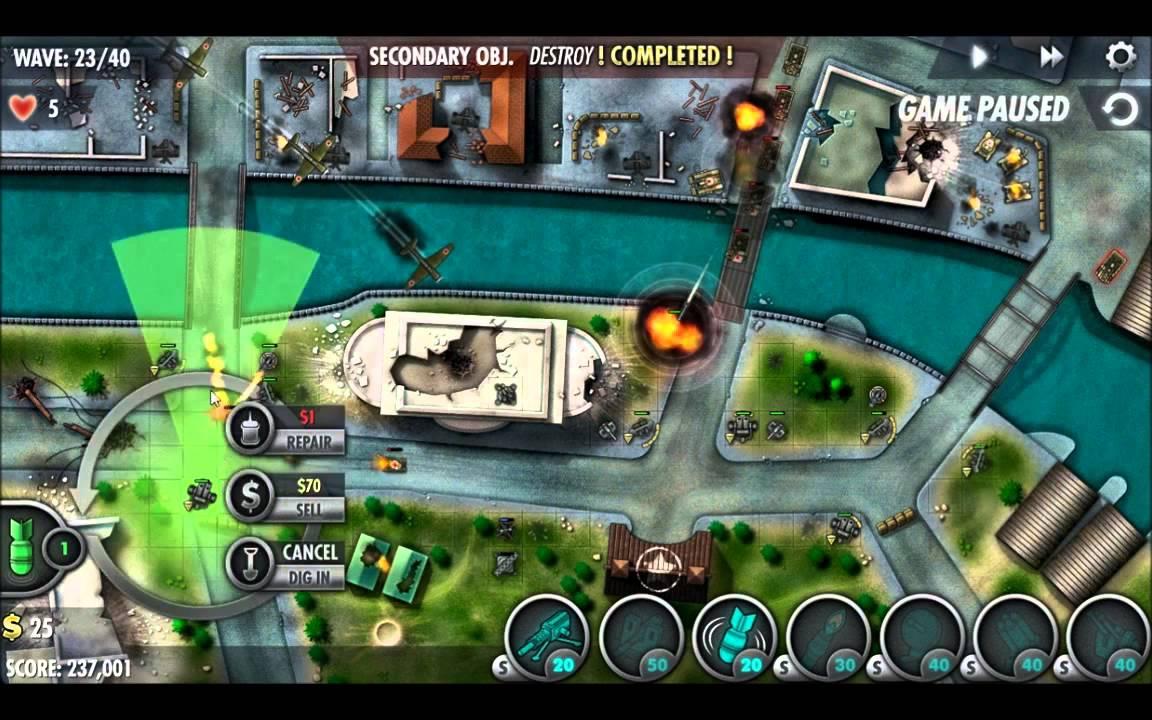 iBomber Defense Pacific gratis para iOS