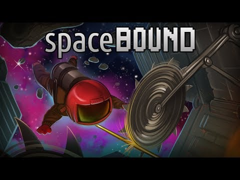 spaceBOUND - Tethered Together in a Death Trap! (Co-op Gameplay)