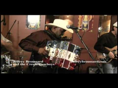 Jeffery Broussard & The Creole Cowboys ~ It's So Hard To Stop
