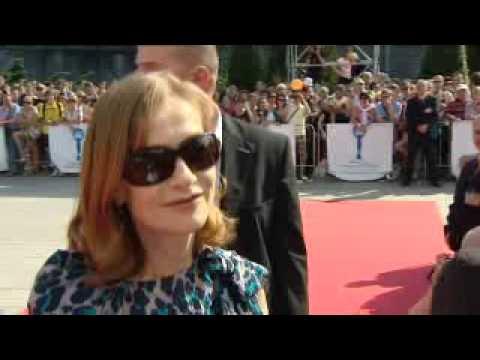 Isabelle Huppert interview Villa Amalia Karlovy Vary