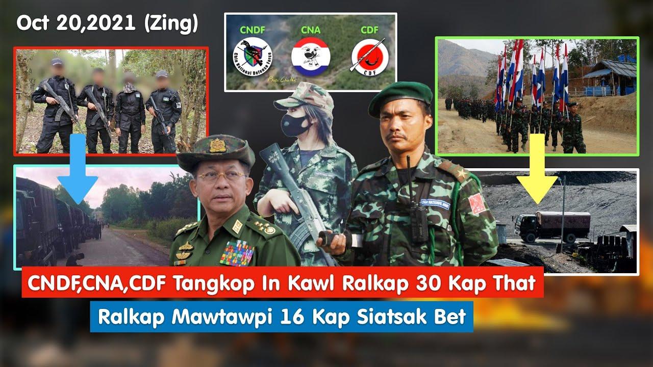 Download Oct 20 (Zing) - CNDF+CNA+CDF In Kawl Ralkap 30 Kap That, Mawṭawpi 16 Kap Kahsiat Sak Bet
