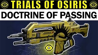 Destiny the inward lamp adept review trials of osiris scout rifle