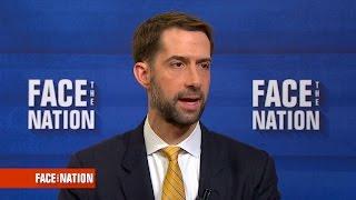 Cotton on senate investigation into Russian influence on the Trump campaign