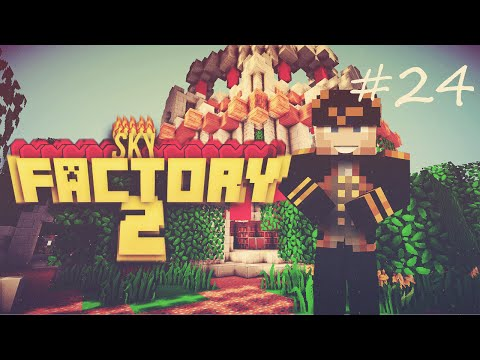 Sky Factory 2 - 24/ Tier 6 Energy Core ve Draconic Staff of POWER!!