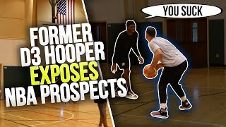 D1 & Former D3 Hooper TEAM UP With Corey Sanders & EXPOSE NBA Prospects! (Mic'd Up)