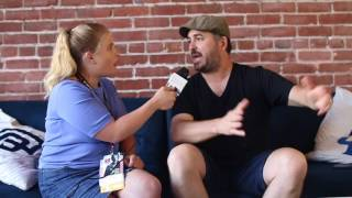 """Video Brian """"Q"""" Quinn of Impractical Jokers On the Spot Interview at Comic Con 2017 download MP3, 3GP, MP4, WEBM, AVI, FLV Agustus 2018"""