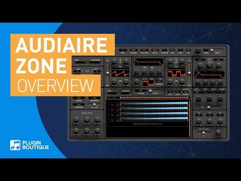 Audiaire's Zone parameter sequencer synthesizer is on sale for $85 USD