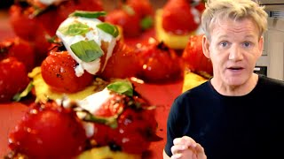 Surprisingly Easy Polenta & Roasted Tomatoes With Gordon Ramsay
