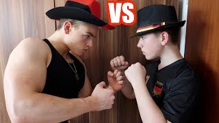 Bodybuilder VS Fußballer - WM Fußball Challenge EXTREM!