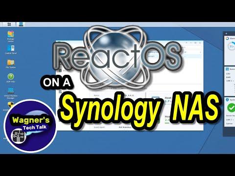 Install ReactOS a FREE Windows Alternative on a Synology NAS